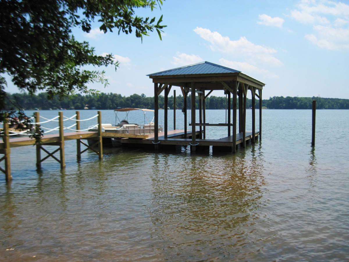 lake wylie boat docks dock masters. Black Bedroom Furniture Sets. Home Design Ideas
