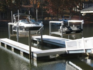 Lake Wylie Boat Lifts   Hi-Tide Boat Lifts   Floatair Boat Lifts   PWC