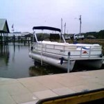 Side Mount Boat Lifts - FloatAir Boatlifts